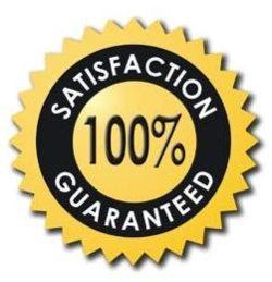 100% satisfation logo